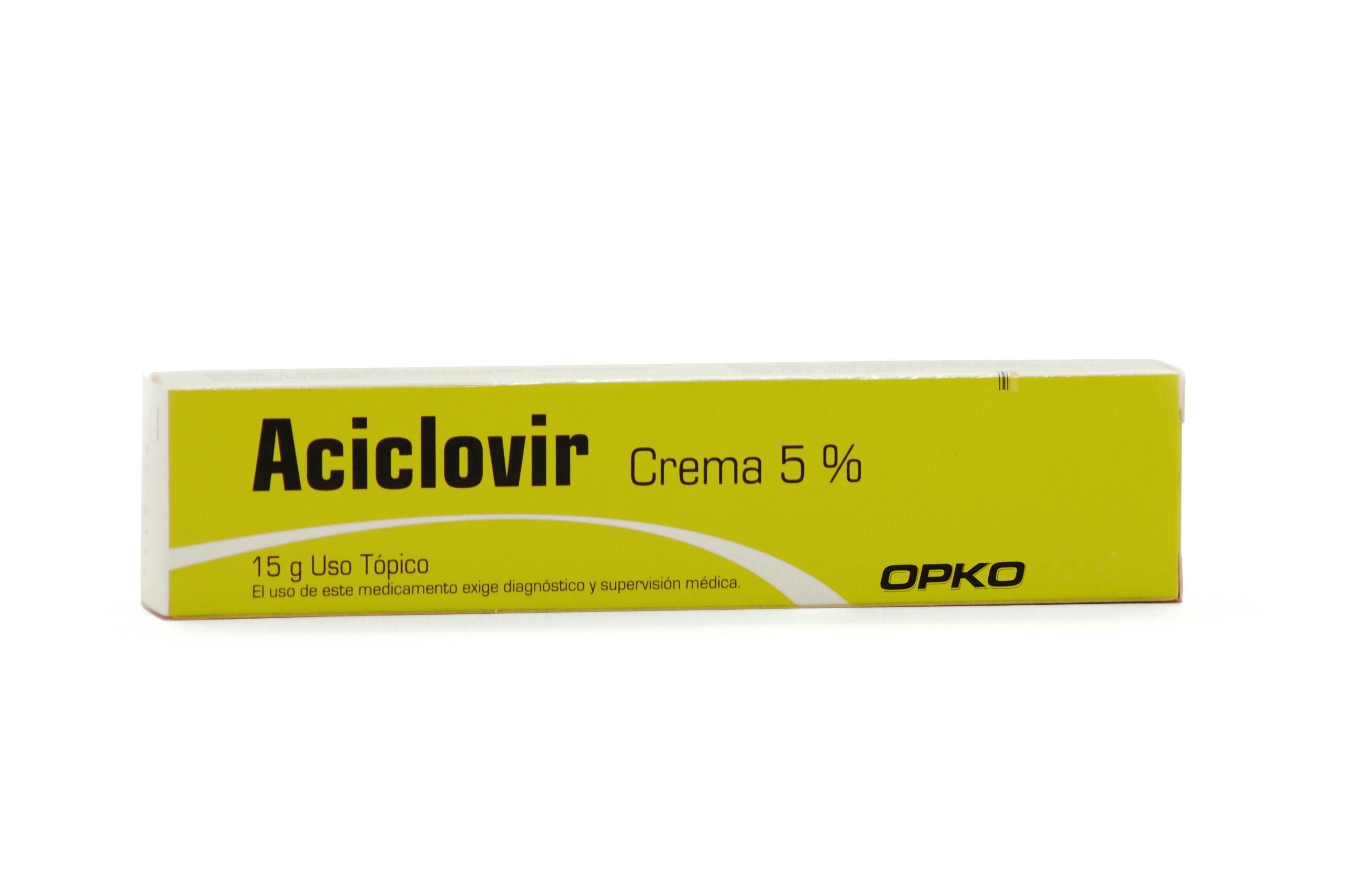 Aciclovir (Tópica)