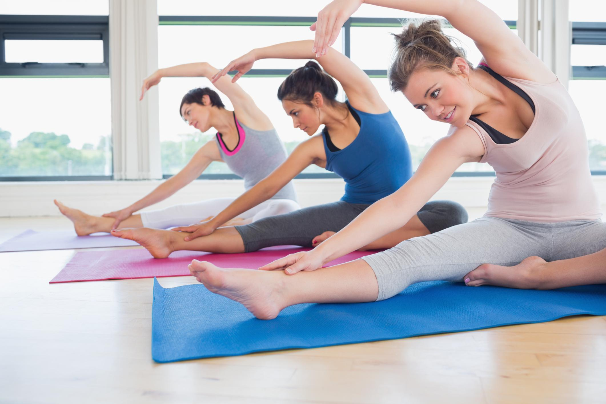 Yoga Equilíbrio Entre Corpo Mente Espírito