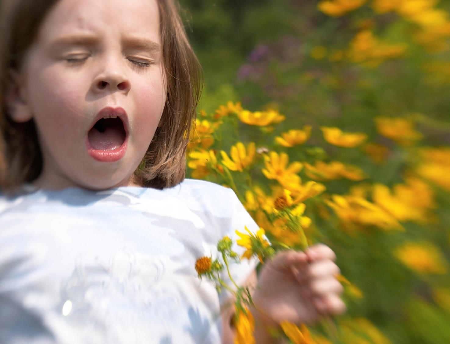 Crianças e Alergia ao Pólen