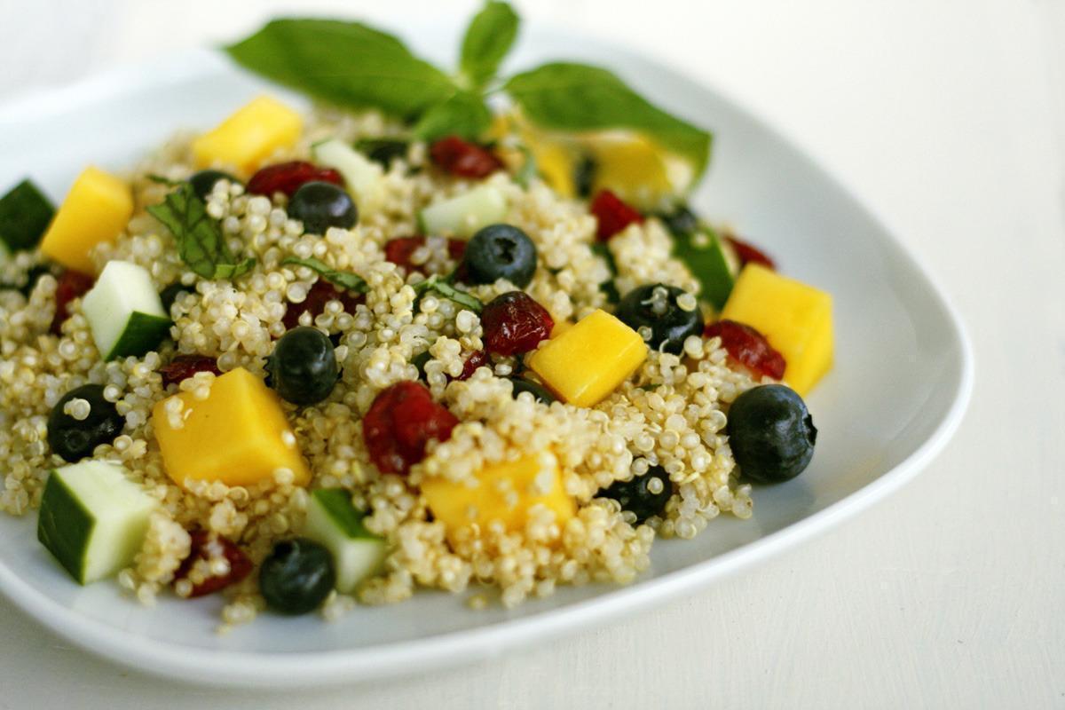 Dieta Salada de Quinoa –  Receita Como Preparar Salada de Quinoa