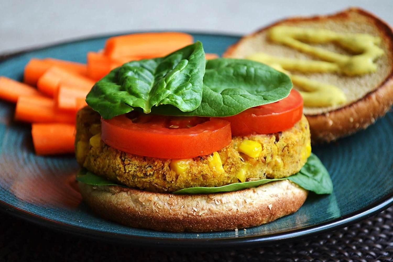 Hambúrguer Vegetariano Light
