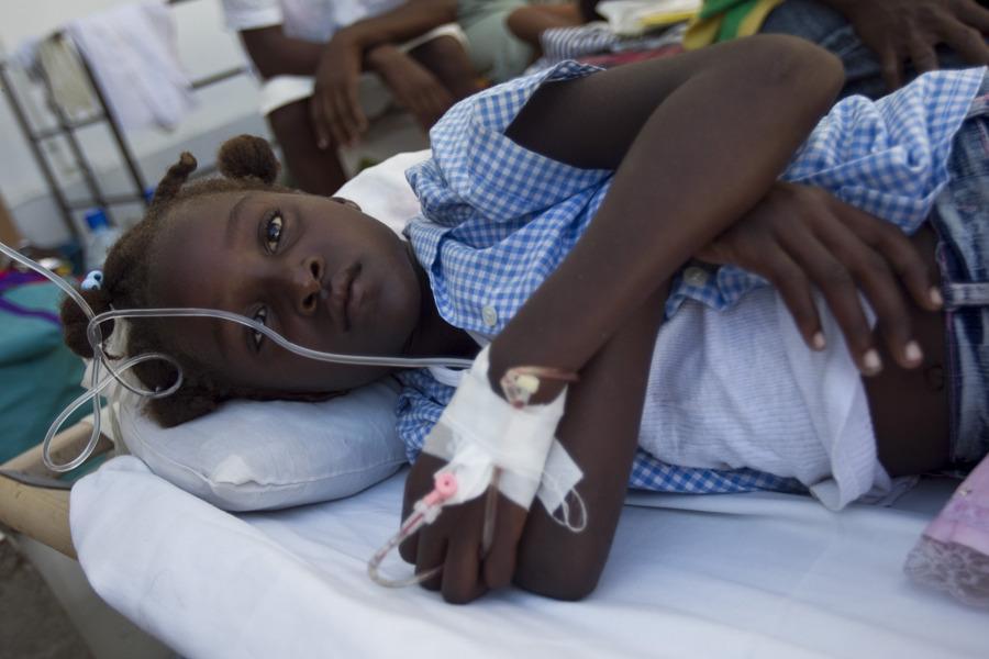 ONU Está Preocupada Com o Surto de Cólera no Haiti