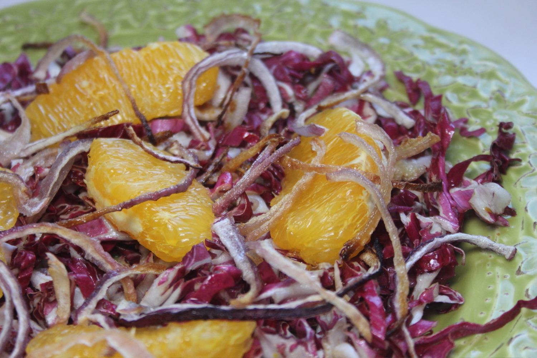 Salada de Cebola e Laranja Para Perder Peso