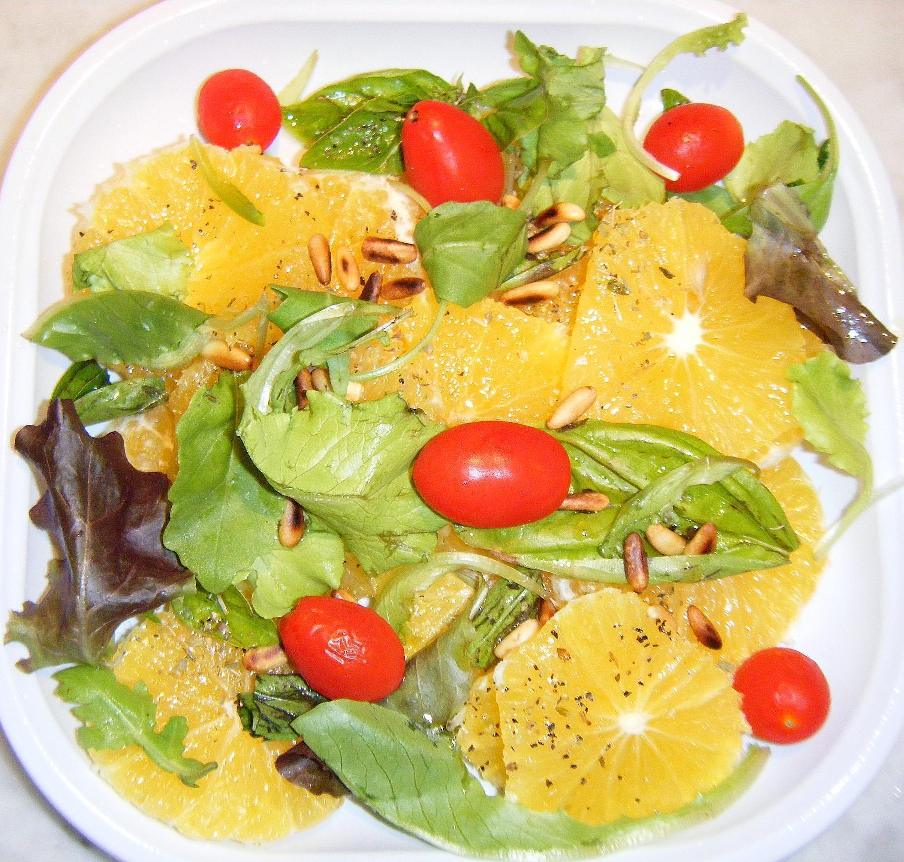 Salada Cítrica Light – Receita de Como fazer um Salada Cítrica Light para Emagrecer