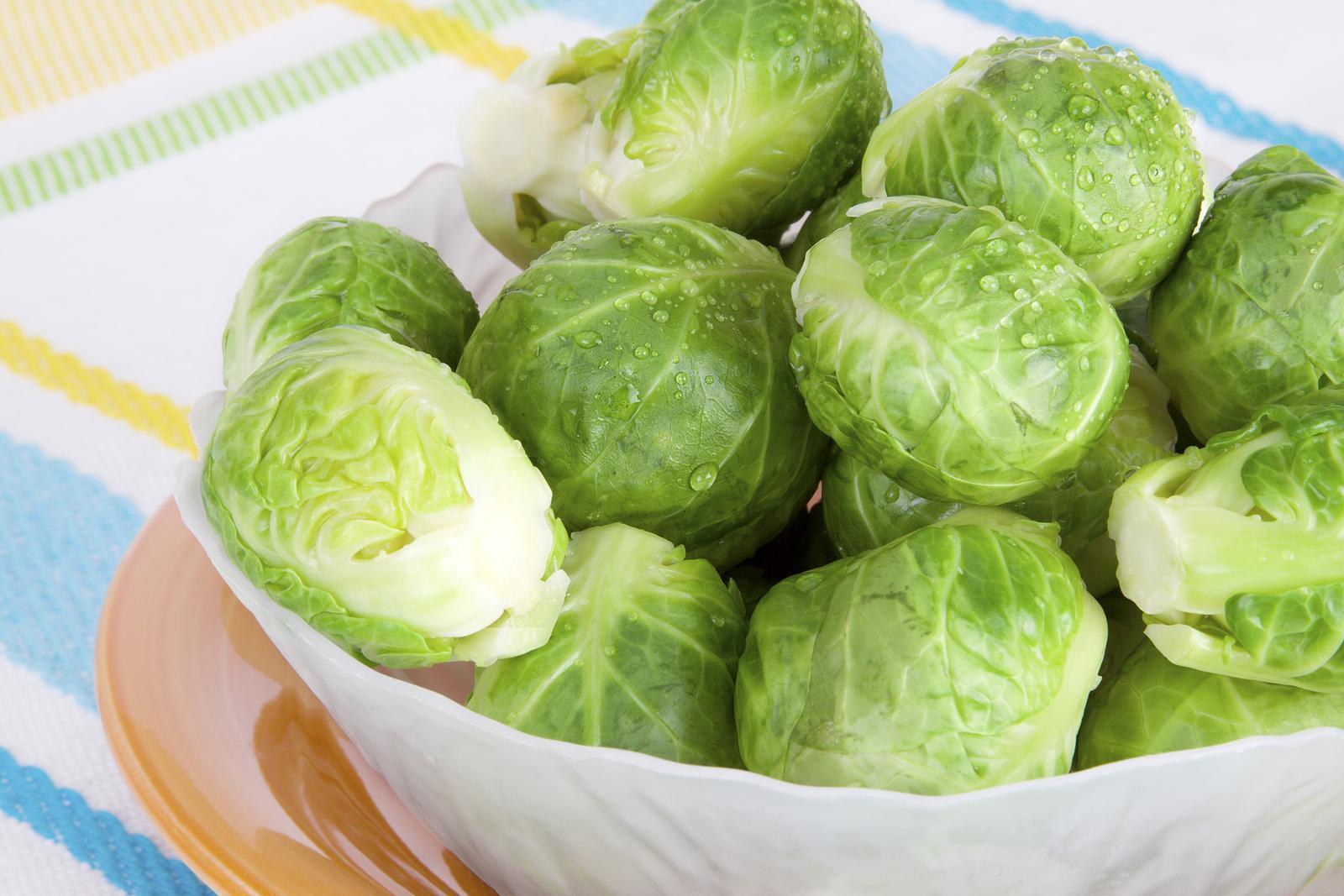 Dieta da Couve de Bruxelas