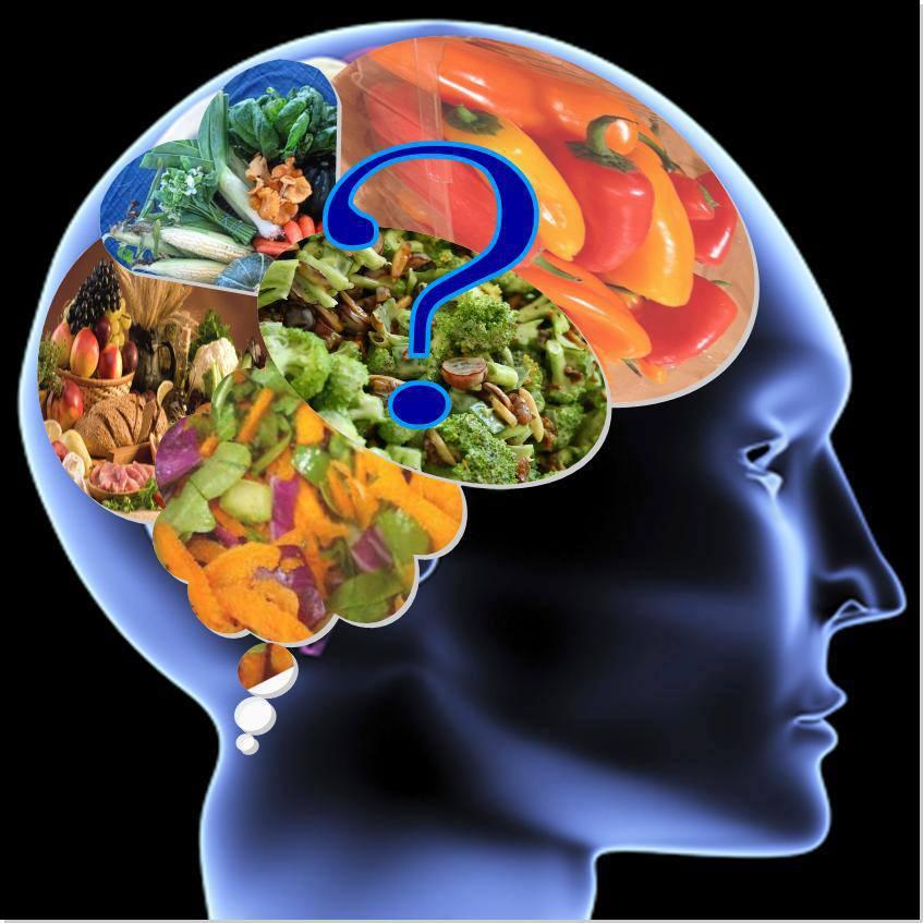 Os Alimentos Que Vão Direto Para O Cérebro