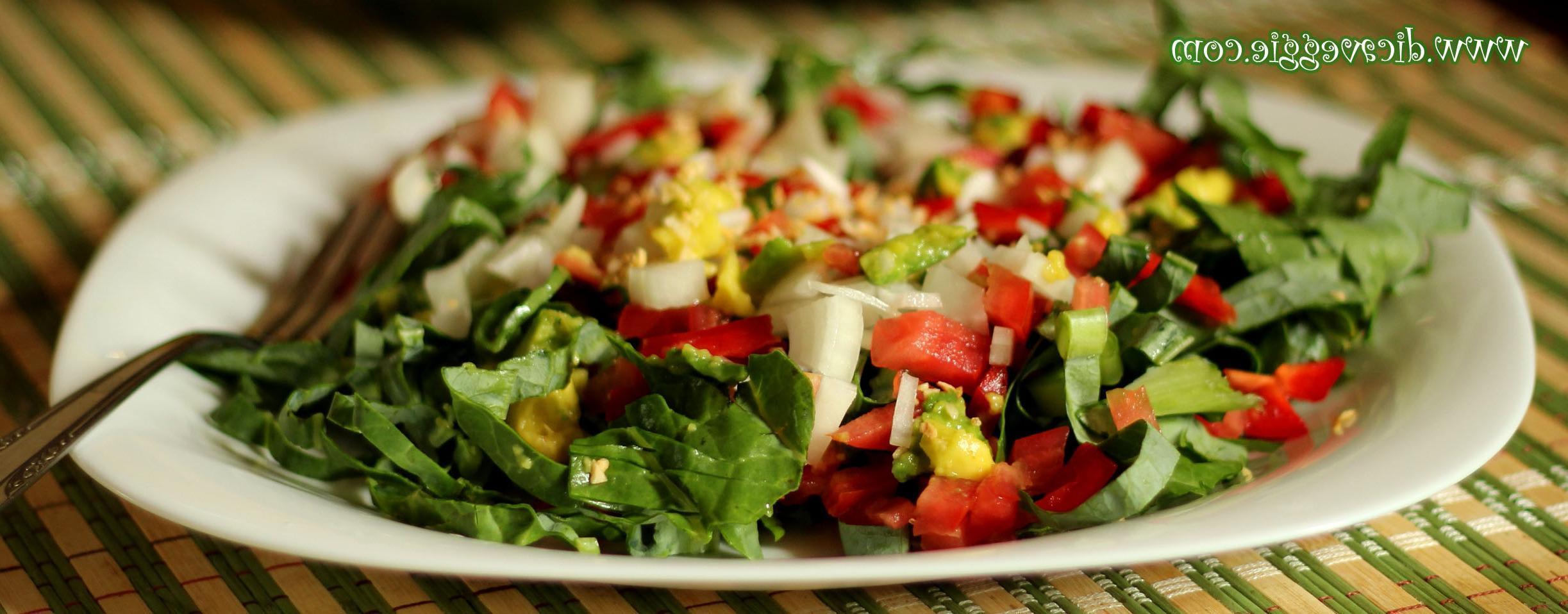 Salada Light de Laranja e Legumes