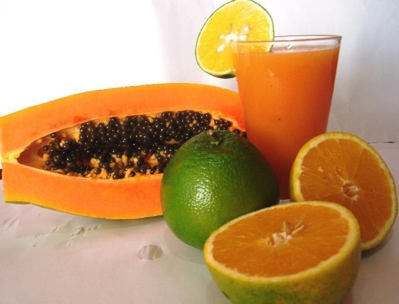Suco de Mamão e Limão Para Emagrecer