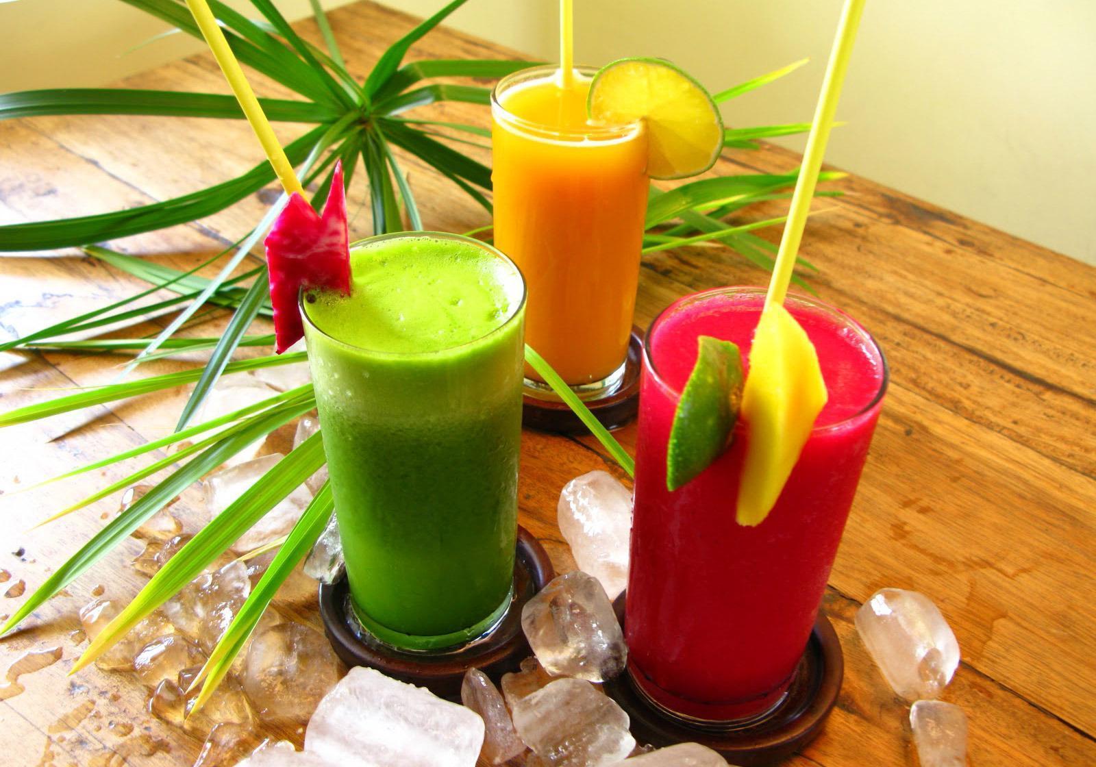 Suco Para o Café da Manhã Desintoxicante e Energético