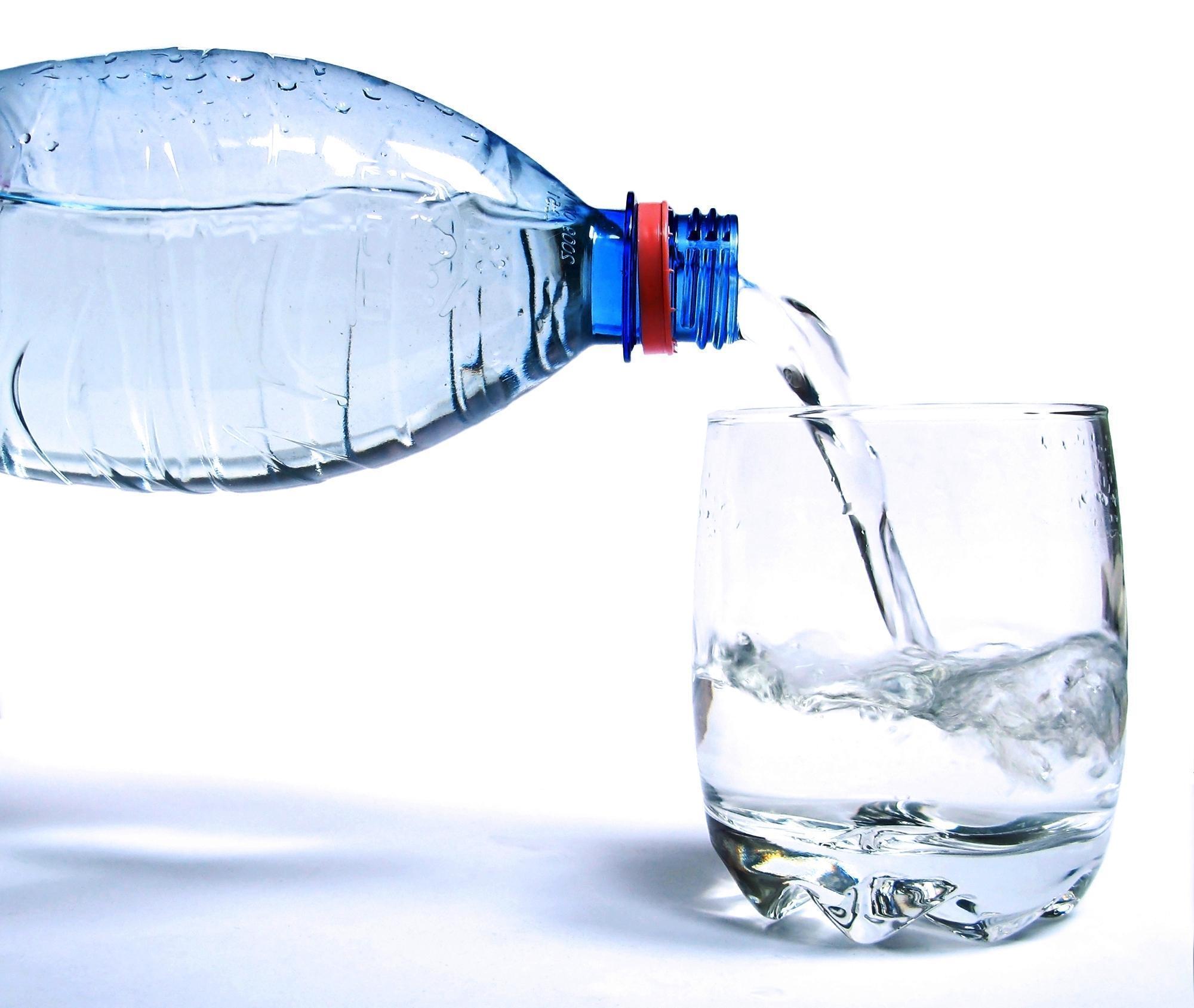 O Que Diz o Rótulo de Uma Garrafa de Água Mineral?
