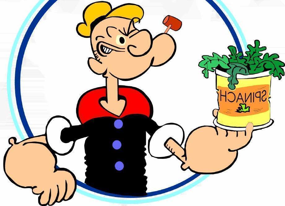 Popeye Tinha Razão Sobre os Espinafres