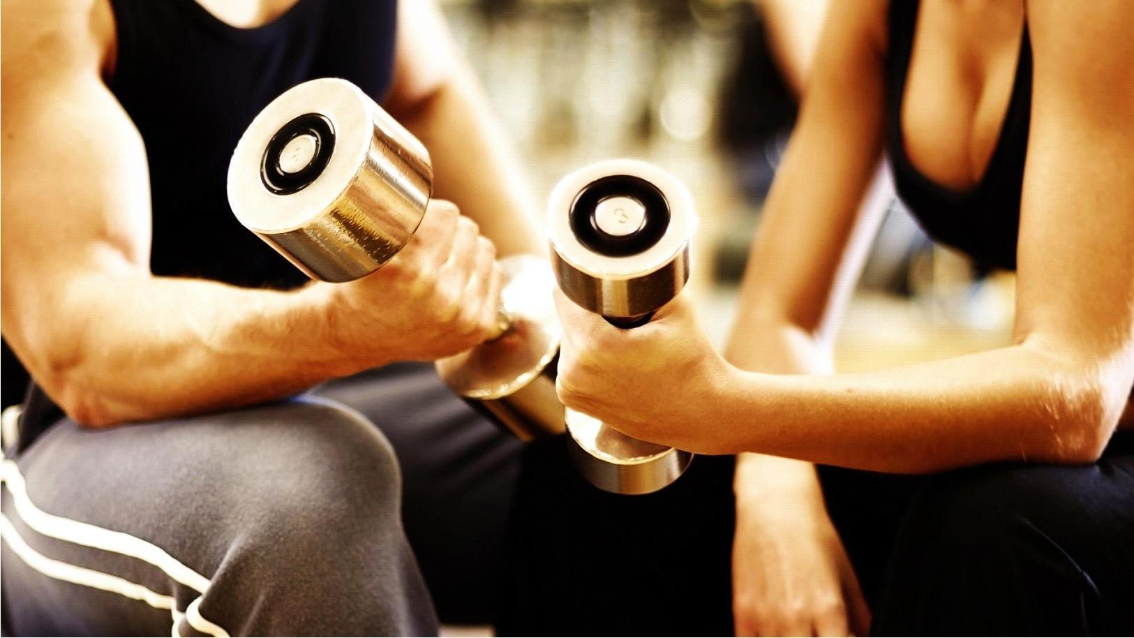 10 Exercícios com Pesos Para Emagrecer