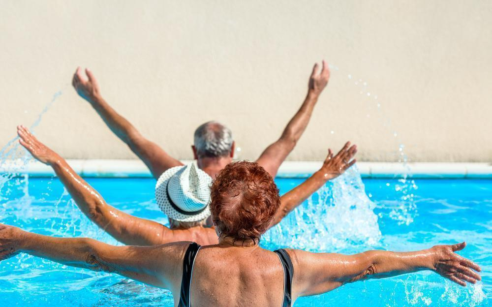 Exercício na Água Aumenta a Força Muscular e Reduz as Quedas