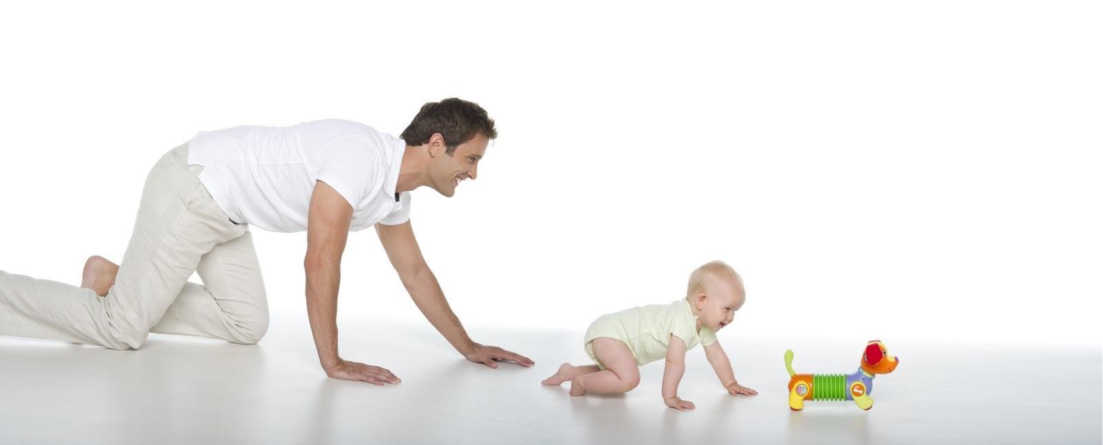 Jogos Para Estimular o Bebê a Engatinhar