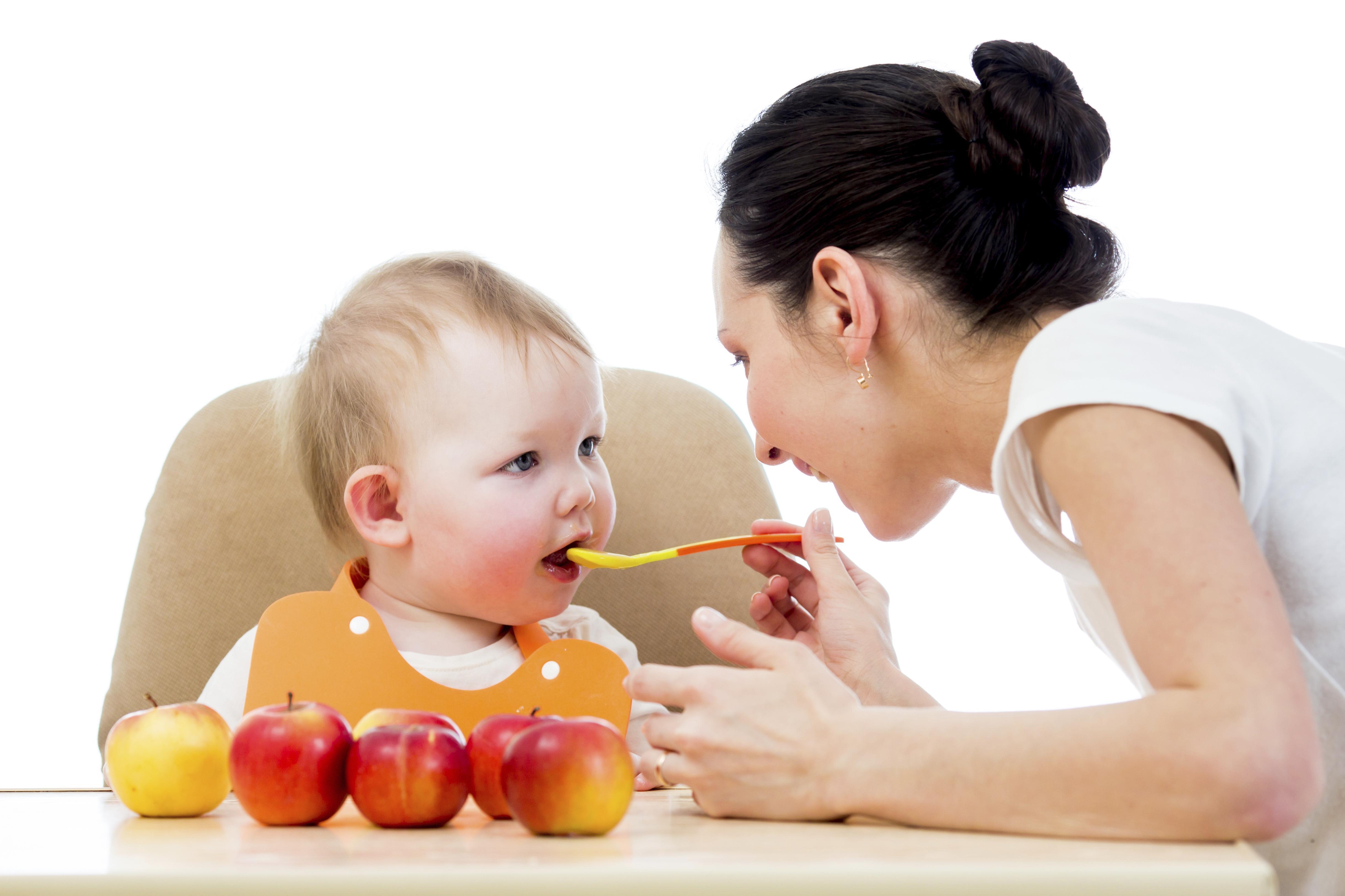 Alimentação Para Bebês de Sete Meses