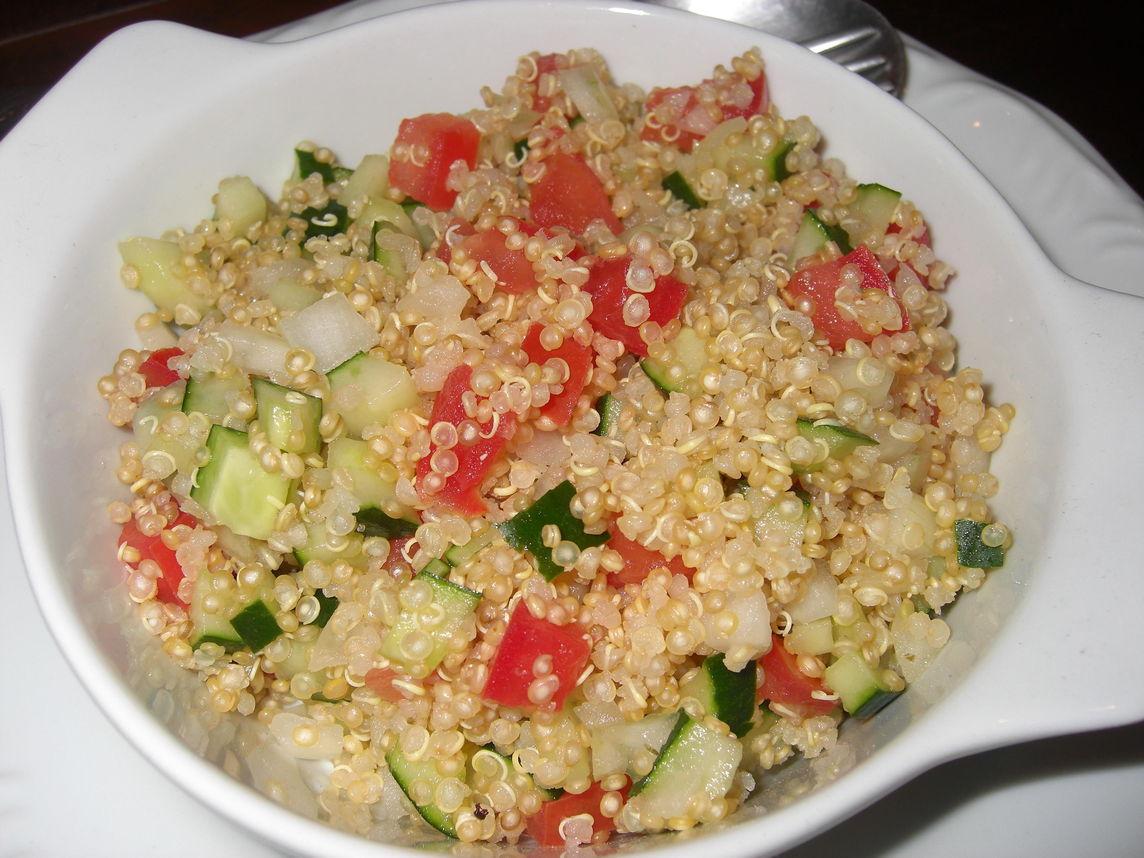 Tabule Light de Quinoa