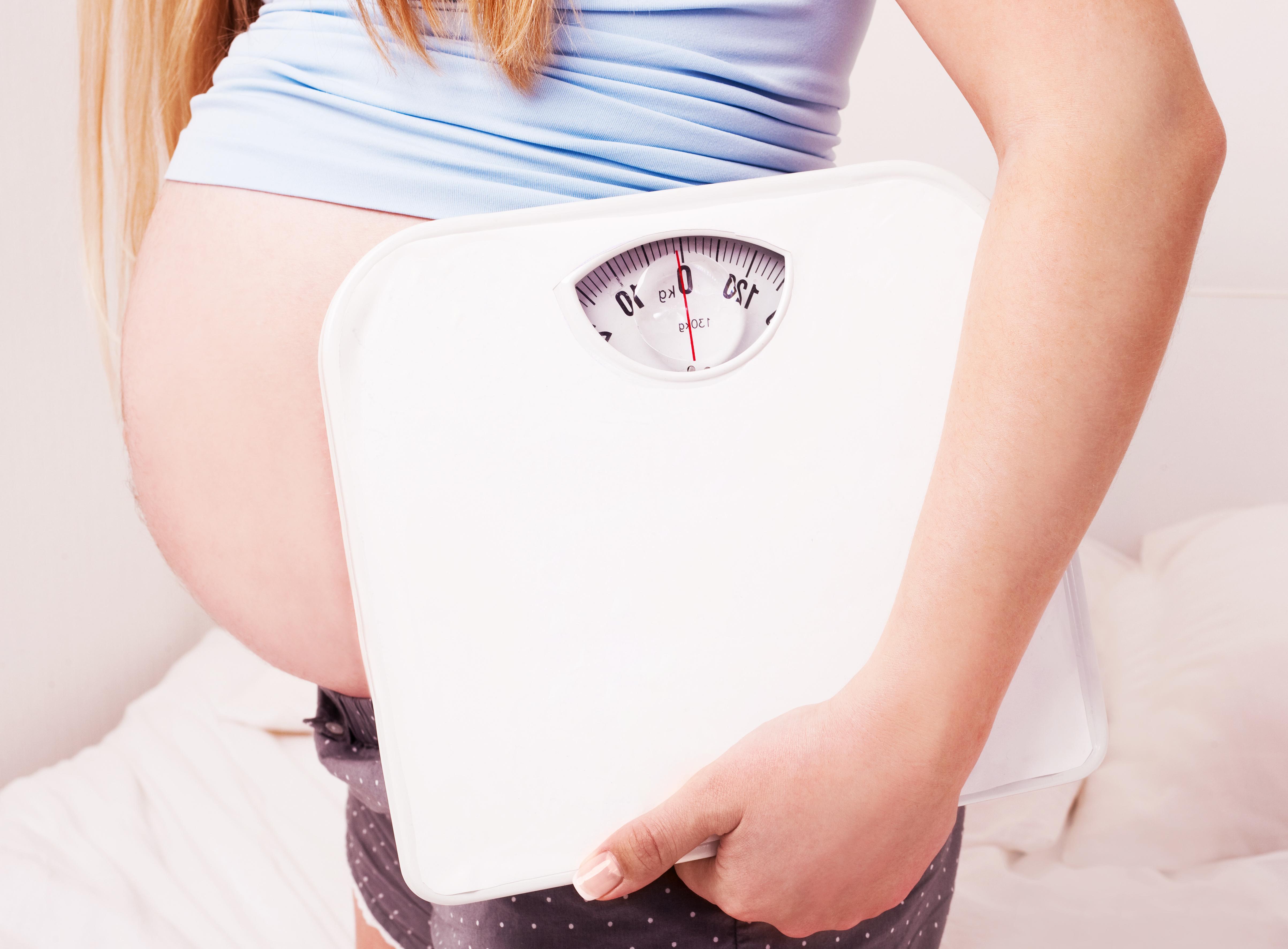 Pregorexia, Anorexia Durante a Gravidez