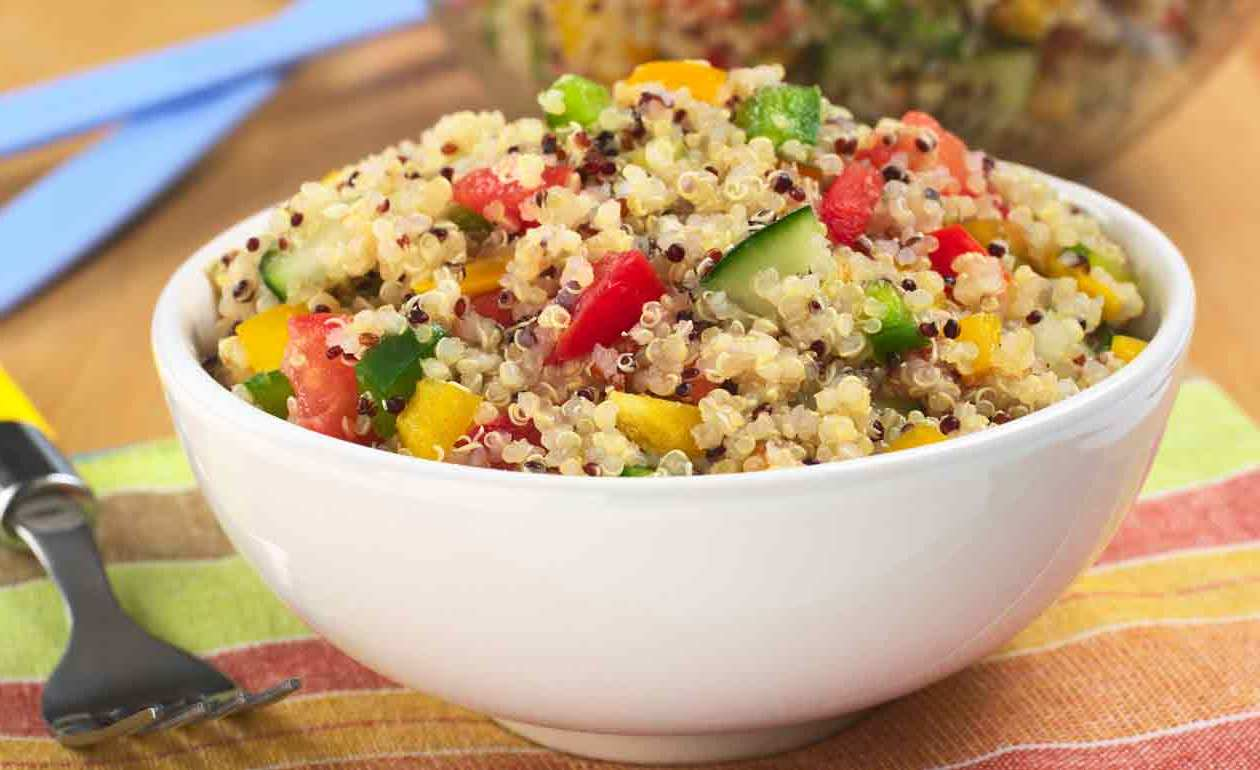 Salada Light de Quinoa