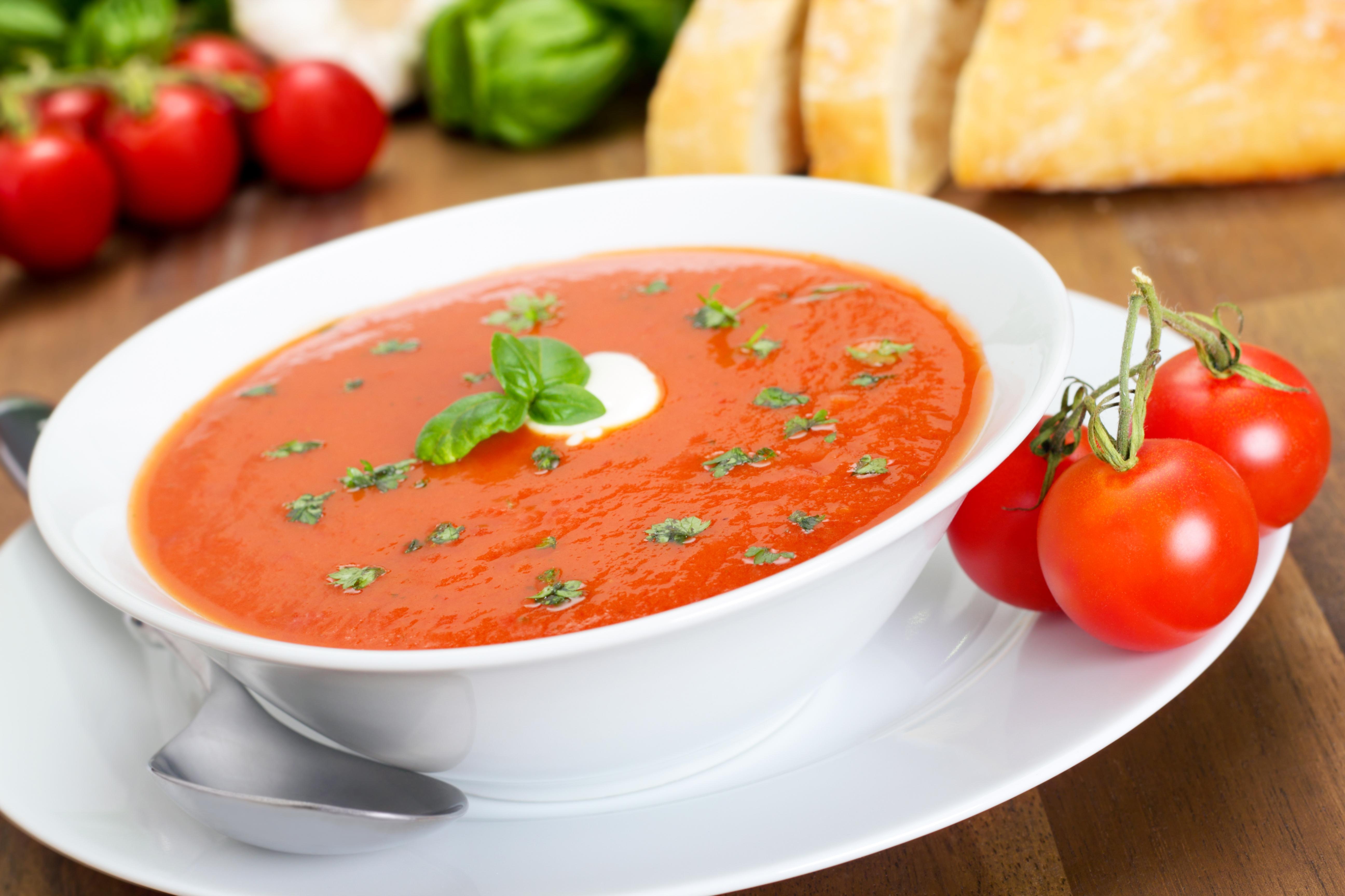Sopa de Tomate Para Perder 5 Quilos