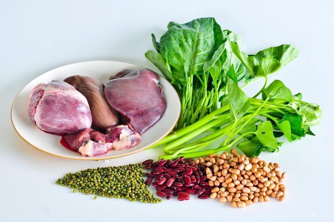 Exemplo de Uma Dieta Contra a Anemia