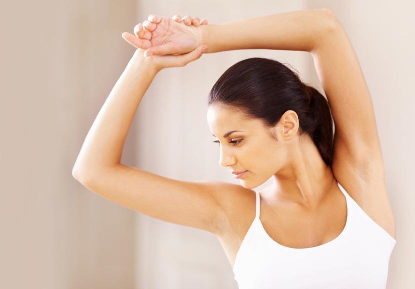 Como levar a pele esticada depois de condições de casa de perda de peso