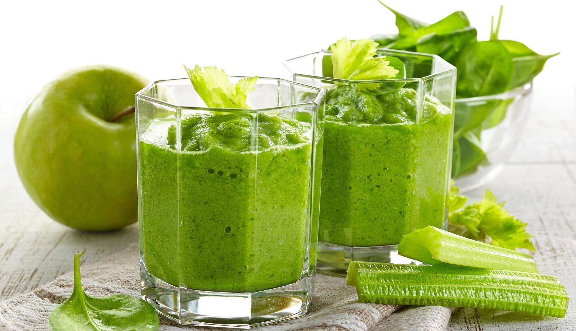 6 Receitas de Sucos Verdes Para Queimar Gordura Abdominal