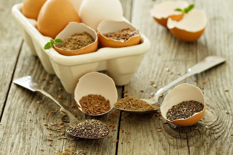 Substitutos dos Ovos Para Receitas Vegan