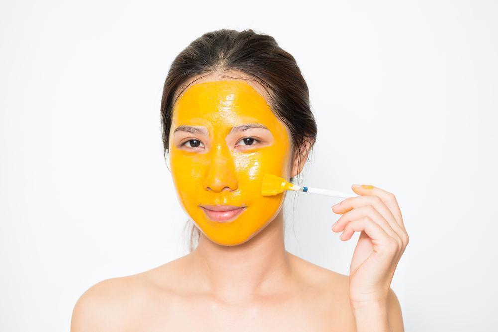 Máscaras de Cúrcuma Para a Pele
