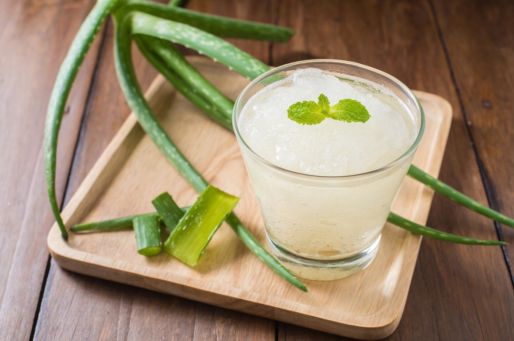 Batido Depurativo de Aloe Vera Para Emagrecer