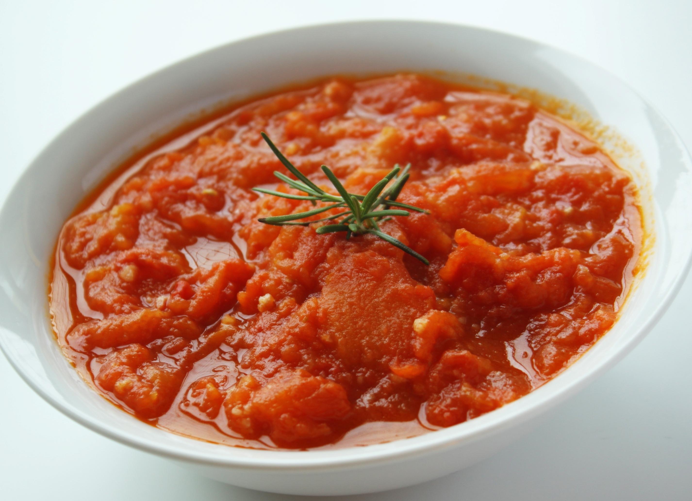 Receita Saudável de Molho de Tomate Light Para Massas