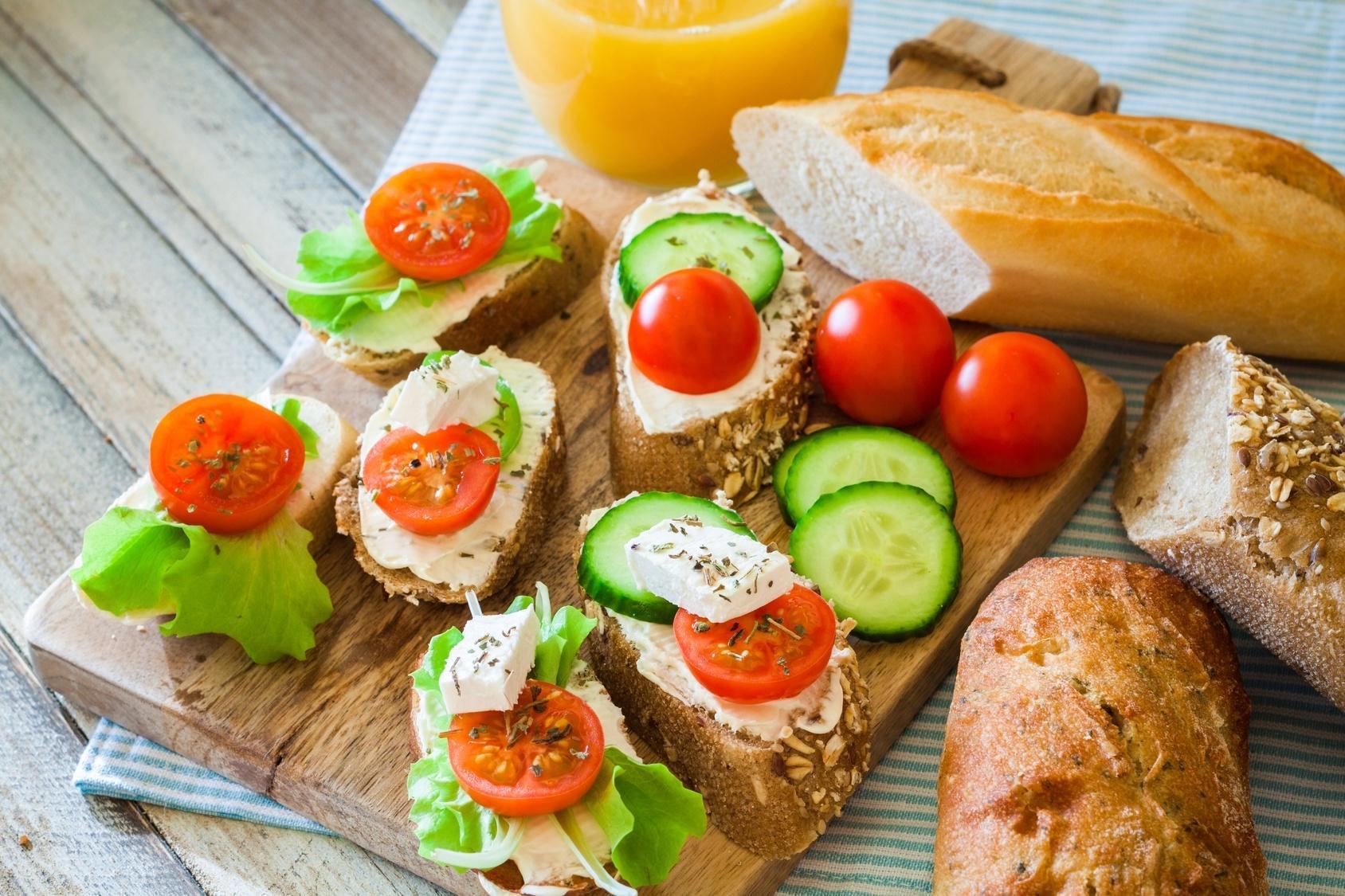 Seis Receitas de Sanduíches Saudáveis e Ricos para a Dieta