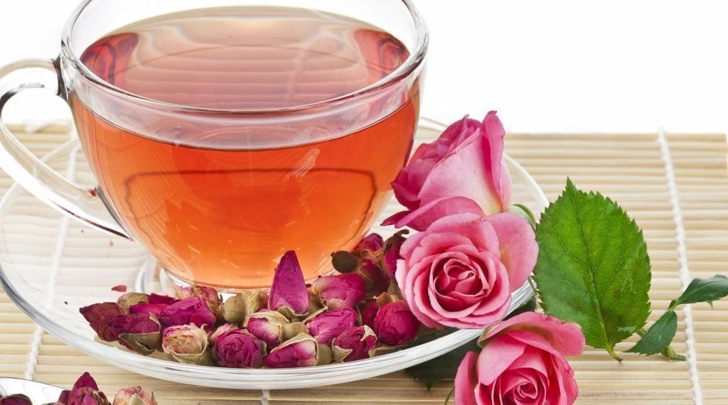 Benefícios do Chá de Rosas